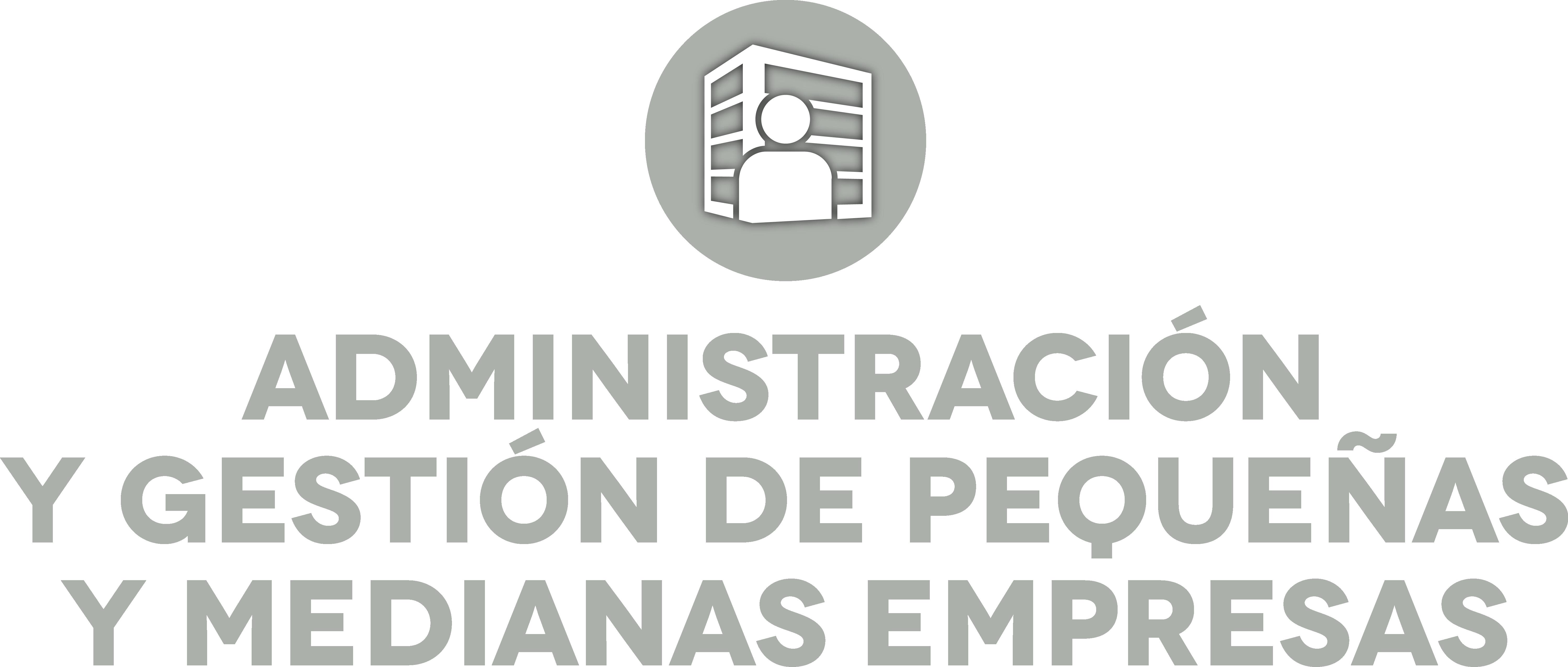 Logo Administración y Gestión Empresarial